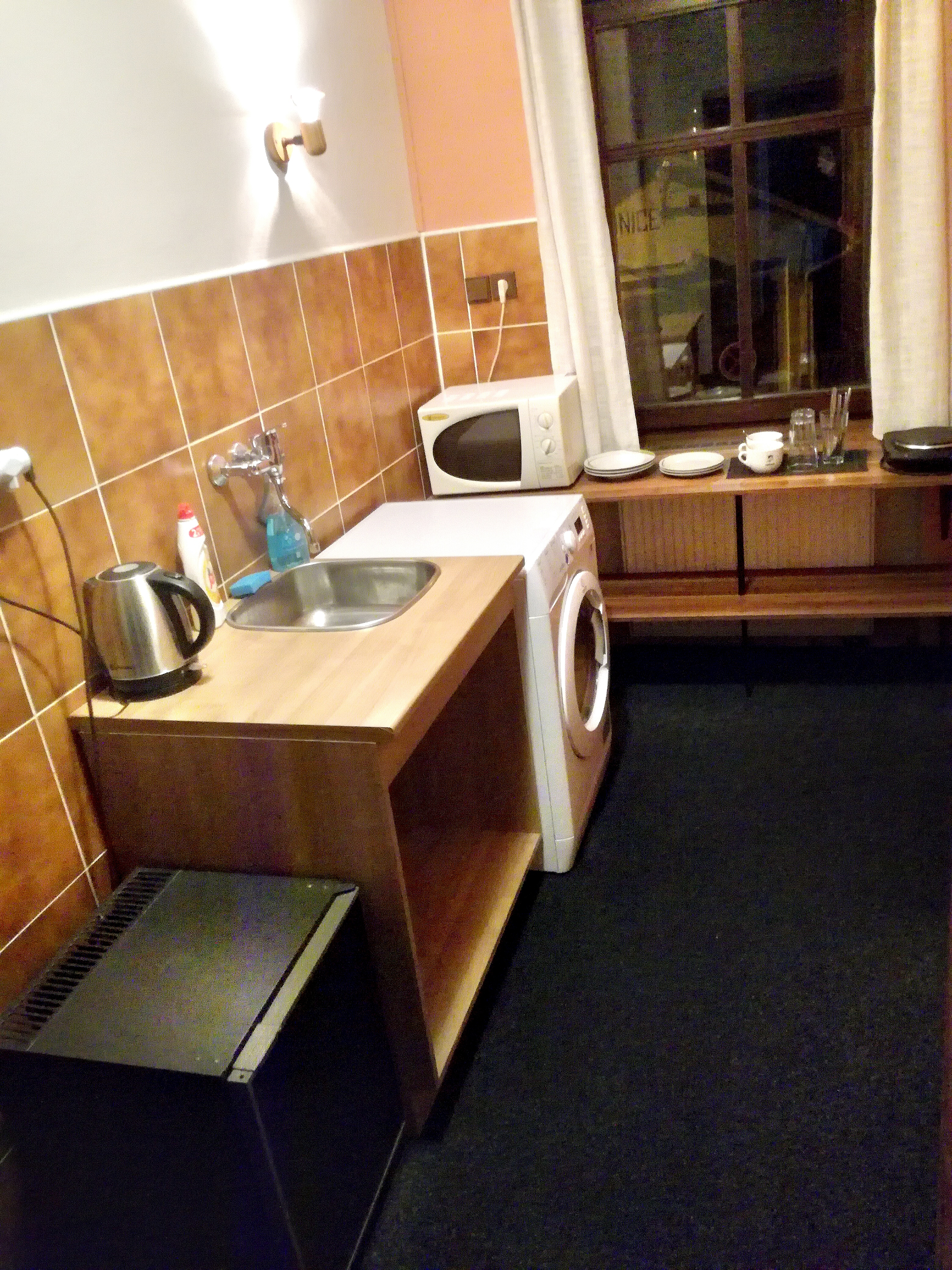 Mini kuchyňka pokoj č. 2